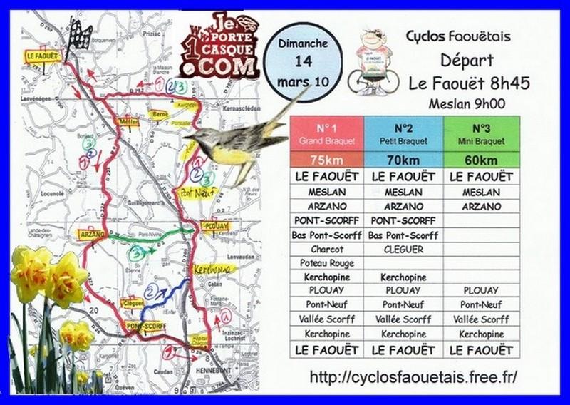 Sortie ouverte à tous les passionnés de cyclisme de la région, licenciés et non licenciés du club.